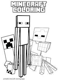 Minecraft Printables Pictures Coloring Pages Printable New Lovely