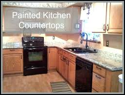 faux countertop paint paint for counter tops granite spray painted kitchen faux facile also faux granite faux countertop paint
