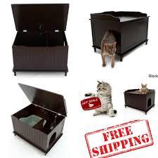 meow town mdf litter box. Cat Litter Box Furniture Meow Town Mdf A