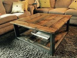 Rustic-X coffee table. Ana White plans. Minwax dark walnut and Varathane  weathered