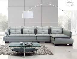 contemporary leather sofa design