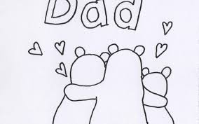 Scroll down to preview and choose the singe coloring sheets you want. Free Printable Fathers Day Coloring Card Bear Family Shine Kids Crafts