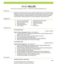 Example Of Accountant Resumes Accounting Assistant Resume Examples Accounting Finance
