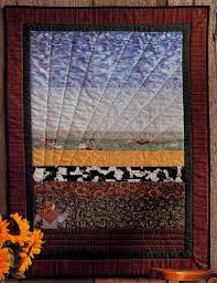 Bird's Eye View Quilted Wall Hanging Pattern | HowStuffWorks & Bird's Eye View Quilted Wall Hanging Pattern Adamdwight.com