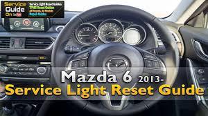 Mazda 6 Service Light Reset