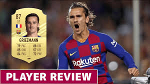 GRIEZMANN 87 PLAYER REVIEW | FIFA 21 ULTIMATE TEAM - YouTube