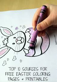 They will give your child the mood of a festive celebration. Top 10 Easter Coloring Pages Printables Sources