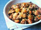 chickens stewed with chestnuts