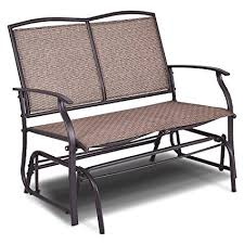 outdoor glider rocker. Giantex Patio Glider Bench Outdoor, Swing Loveseat, Rocker Lounge Chair Outdoor 2
