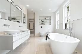 modern white tile floor. Modern White Bathroom Bath Design Ideas Photos Inspiration Bathrooms Tiles Tile Floor