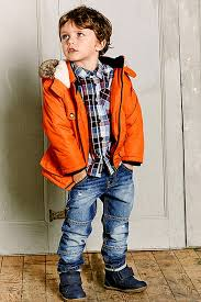 tesco kids aw15 orange coat