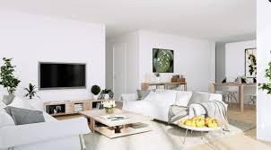 Terrific Scandinavian Living Room Furniture With Massive Wooden ...