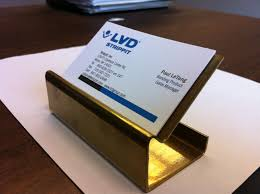 One Of A Kind Business Card Holder Made From Scrap Metal With Just A