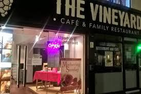 the upper vineyard restaurant on topping street