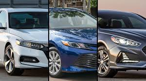 2018 By The Numbers Honda Accord Vs Toyota Camry Vs