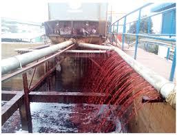 Kết quả hình ảnh cho hình ảnh nước thải ngành dệt nhuộm
