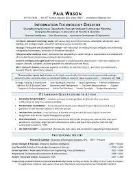Resume Examples It Manager Resume Examples Pinterest Sample
