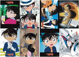Amazon.com: ePanda Anime Case Closed Detective Conan Poster Wall ...