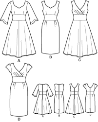 Sewing Patterns For Dresses Awesome Simplicity 48 Misses Dresses