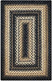 black and cream rugs jute braided australia