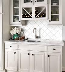 White Arabesque Tile Home – Tiles