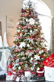 diy polar bear ornament mini snowglobe ornament buffalo check christmas tree