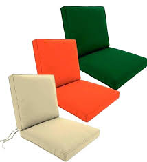 outdoor chair pads with ties tie back chair cushions endearing outdoor seat and cushion plow hearth
