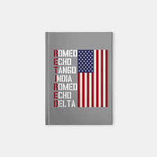 The phonetic alphabet comprised of words used to identify letters in a message transmitted by radio or telephone. Military Police Pilot Retirement Gift Phonetic Alphabet Military Retirement Notebook Teepublic