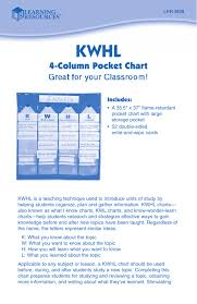 4 Column Pocket Chart