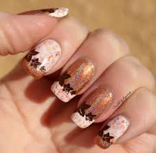 Pumpkin Spice Latte: French Tip Nail Art feat. KBShimmer