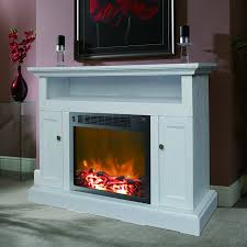 living room gel fuel fireplace tv stand in white for