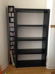 Ikea Lack Bookshelf Black