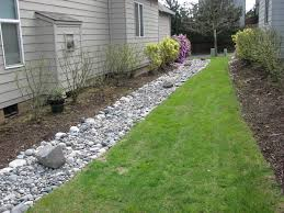 Drainage  Where To Lead French Drain End In Backyard Cookie Drainage In Backyard