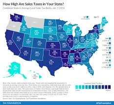Nevada Ranks 13th Among States In Highest Sales Taxes Rcg