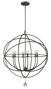 home design black orb chandelier i love these swirling atom chandeliers this one from lighting5