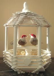 14 love bird popsicle stick house