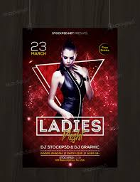 ladies night psd flyer template net ladies night is a psd flyer template