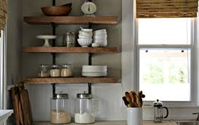 Rustic Kitchen Shelving Kitchen Amazing Kitchen Shelf Ideas Wall Shelf Ideas Home Depot