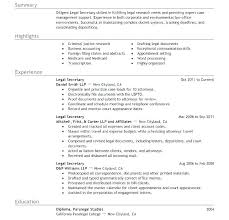 Legal Resume Objective Magnificent Legal Assistant Resume Colbroco