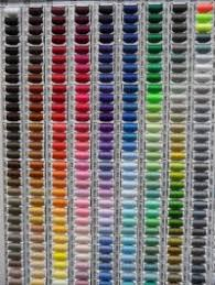 Coats And Clark Sewing Thread Color Chart Coats Moon Thread Colour Chart Embroidery Floss