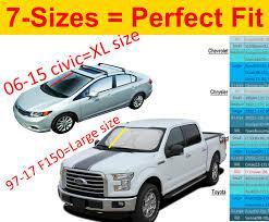 Sunshade Size Chart Cheap Vehicle Size Chart Find Vehicle Size Chart Deals On