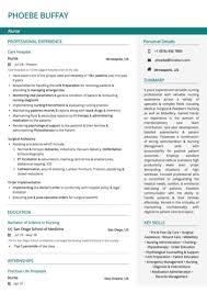Resume Nurse Nurse Resume Sample By Hiration