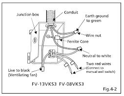 bathroom vent fan wiring help electrical diy chatroom home does this mean that i can connect my power supply directly from the junction box in the attic for the continuous ventilation and then bring it down to the
