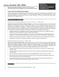 sample financial analyst resume example 4 analyst resume examples