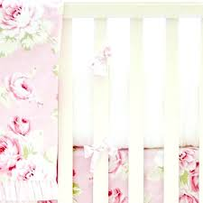 rose baby bedding decoration plain baby bedding sets nursery pink fl desert rose crib set new