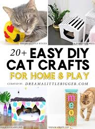 20 cat crafts and diy projects for