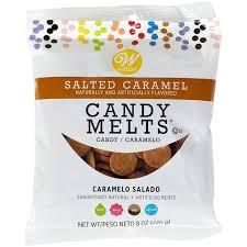 Salted Caramel Candy Melts 8 Oz