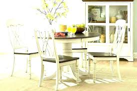 farmhouse dining set furniture kitchen table sets chairs round appealing for