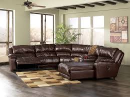 Furniture Full Grain Leather Sectional