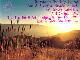 Beautiful Sunrise Scenery With Quotes Best Of THE SECRET OF SHARING Morning Is Not Only Sunrise